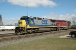 CSX 7629, West on CSX